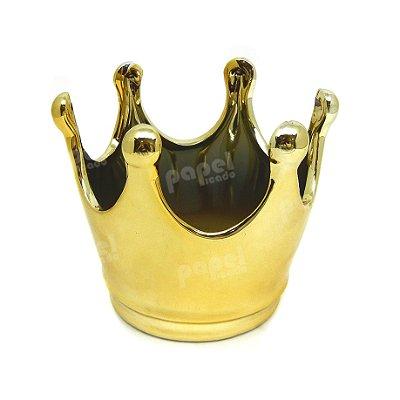 Pote Coroa Dourada M