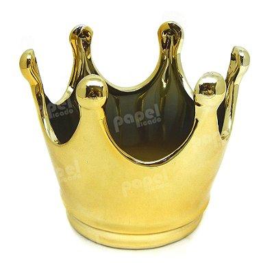 Pote Coroa Dourada G