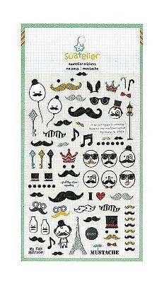 Adesivo Mustache