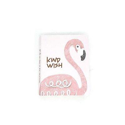 Bloquinho de Anotações Flamingo Rosa