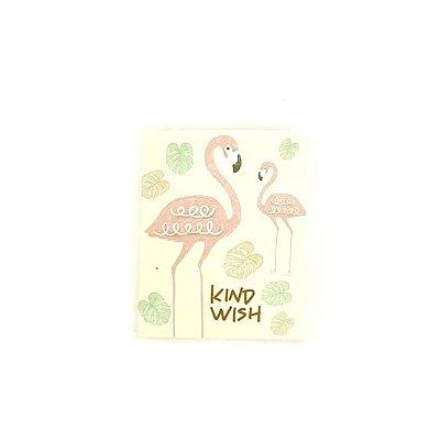 Bloquinho de Anotações Flamingo Amarelo