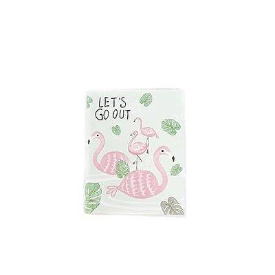 Bloquinho de Anotações Flamingo Verde