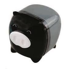 Apontador Porquinho Preto