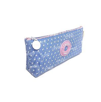 Estojo Sweet Donut Azul