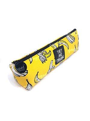 Estojo Amarelo Banana