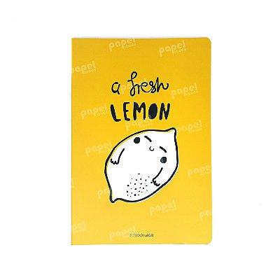 Caderninho Brochura Médio Limão
