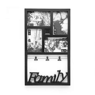 Painel de Fotos Varal Família