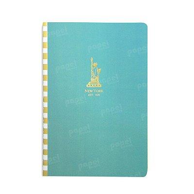 Caderninho Azul New York