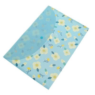 Pasta Envelope Flores Azul