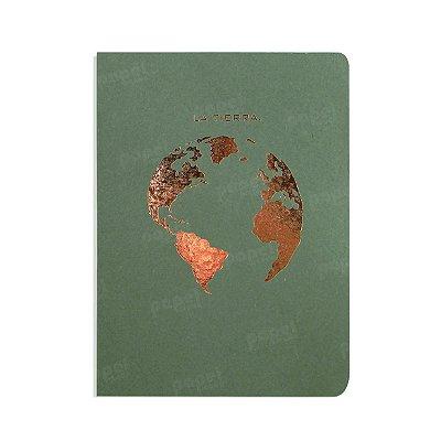 Caderno Verde La Tierra