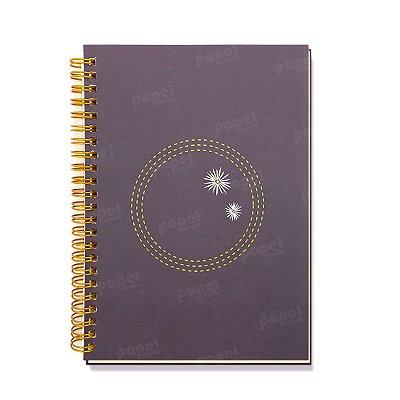 Caderninho Espiral Flores
