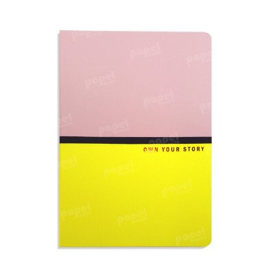 Caderno Médio Own Your Story