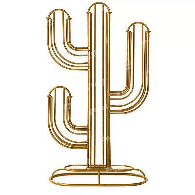 Porta Capsula de Metal Cactus