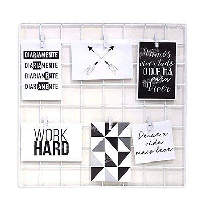 Memory Board Branco 40x40cm