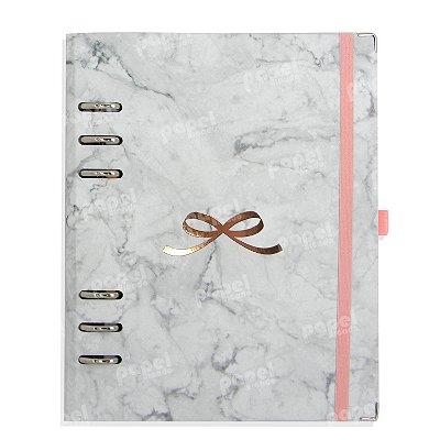 Planner Organizador A5 - Love Marmorizado