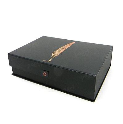 Caixa Organizadora Pena Bronze