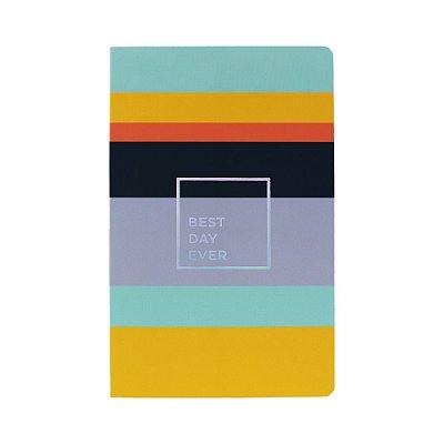 Caderno Flexível Pontilhado Listras Allegro
