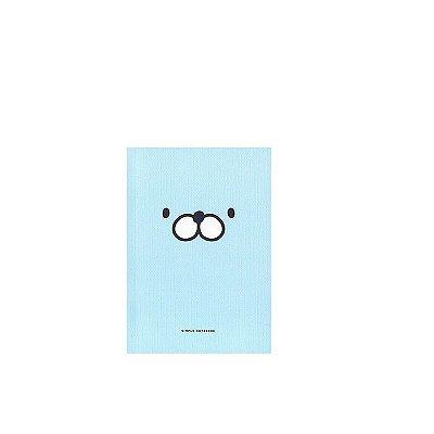 Caderninho Brochura Azul Rostinho