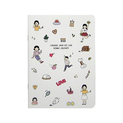 Caderninho Médio Bonne Journée