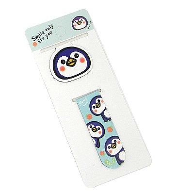 Marcador de Página Pinguim