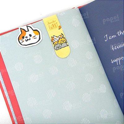 Marcador de Página Gato Malhado