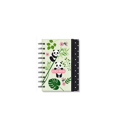 Caderneta Panda 96 folhas