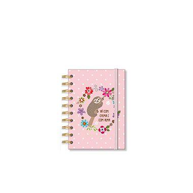 Caderneta Preguiça 96 folhas