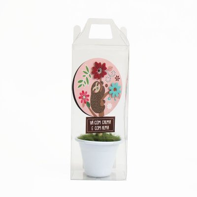 Vasinho Decorativo Preguiça