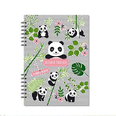 Planner Mensal Compacto Panda