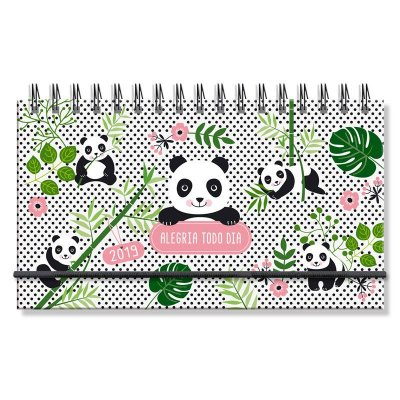 Agenda 2019 Panda Mini Semanal