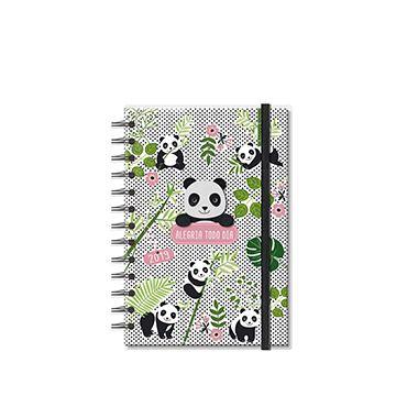 Agenda 2019 Espiral Panda Pequena