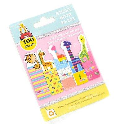 Post It Colorido Girafinhas Listras