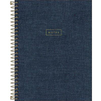 Caderno Jeans 1 Matéria