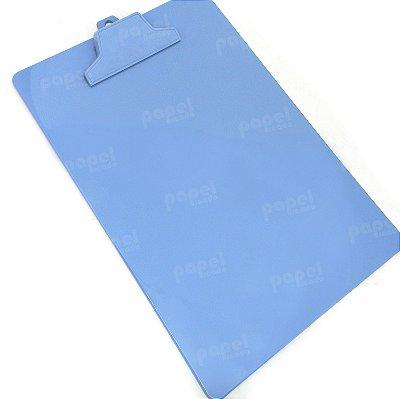 Prancheta com Prendedor Azul A4