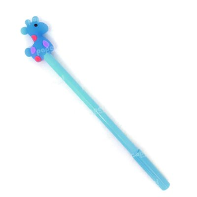 Caneta Gel Girafa Azul