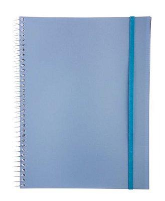 Caderno Universitário 96 Folhas Azul