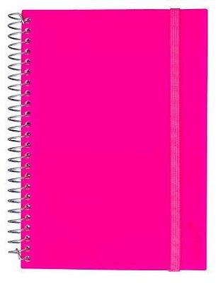 Caderno Universitário 200 Folhas Pink