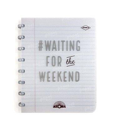 Caderno de Discos Prata Weekend A5