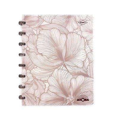 Caderno de Discos Pattern Cobre A5