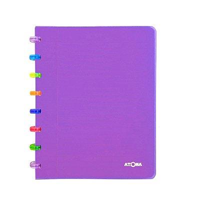 Caderno de Discos Roxo Tutti Frutti A5