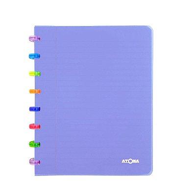 Caderno de Discos Lilás Tutti Frutti A5