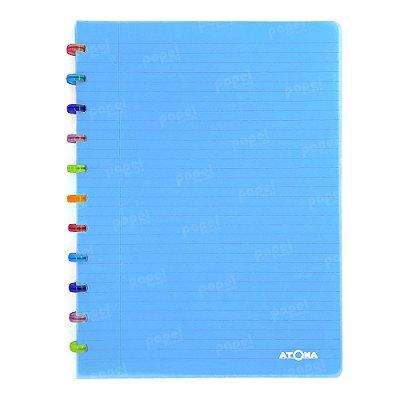 Caderno de Discos Azul Tutti Frutti A4