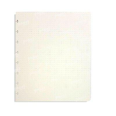 Refil Caderno de Discos Pontilhado A5