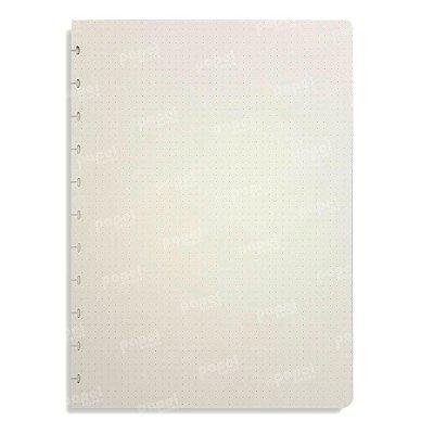 Refil Caderno de Discos Pontilhado A4