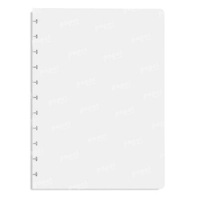 Refil Caderno de Discos Em Branco A4