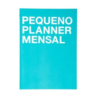 Planner na Medida Azul- Pequeno