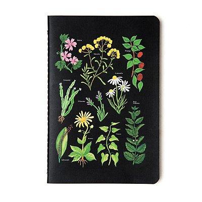 Caderninho Brochura Jardins Sem Pauta