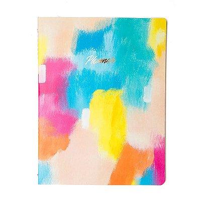 Planner Canvas Colorido