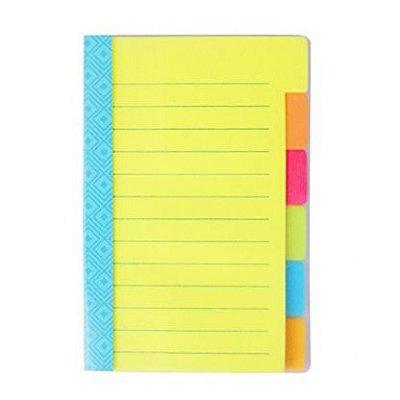 Caderninho Post-it de Anotações Folhas Coloridas