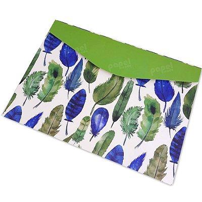 Pasta Envelope Nature Verde